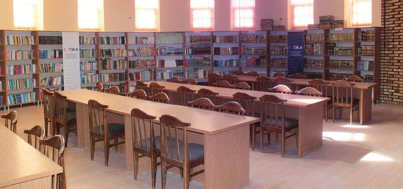 TURKISH AID AGENCY RENOVATES LIBRARY IN AFGHANISTAN