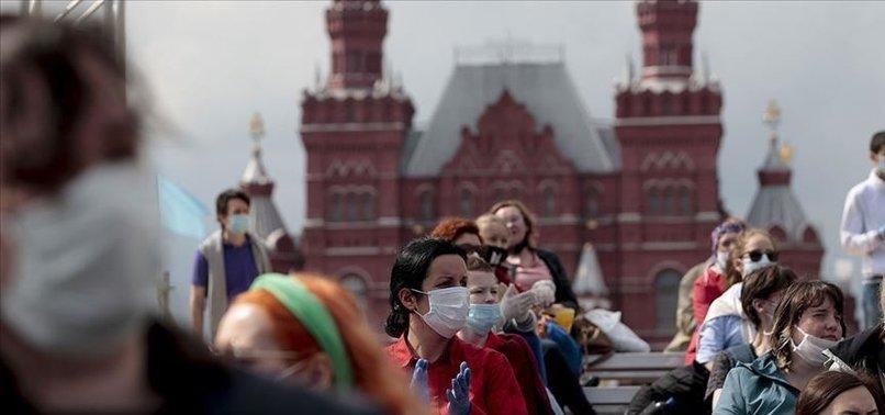 CORONAVIRUS CASES IN RUSSIA CROSS 700,000