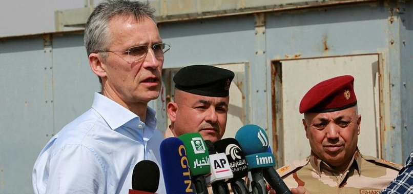 NATO CHIEF PLANS MILITARY ACADEMIES FOR IRAQI FORCES