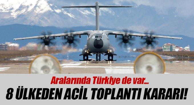 Sekiz ülkeden A400M toplantısı