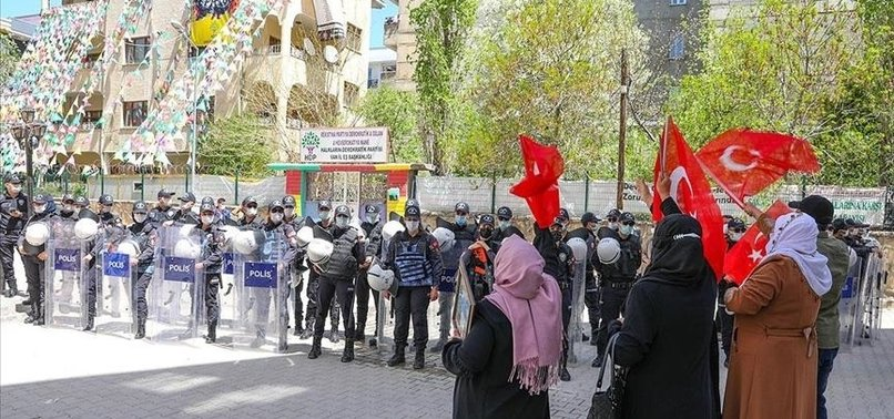 ANTI-PKK PROTESTS CONTINUE IN EASTERN TURKEY