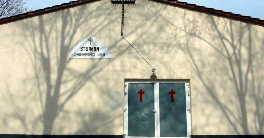 Süryani kilisesine saldırı