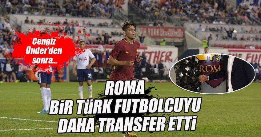 Roma bir Türkü daha transfer etti