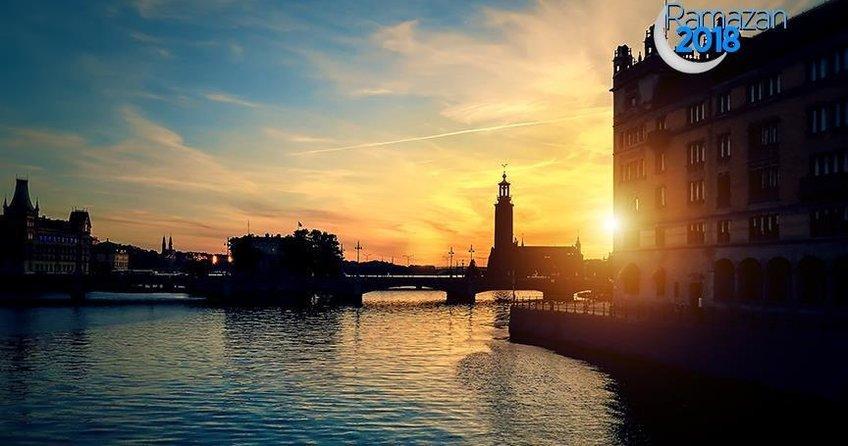 İsveç'teki Müslümanlar yaklaşık 20-22 saat oruç tutacak