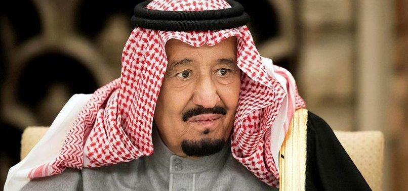 KING SALMAN CALLS FOR INTERNATIONAL RESPONSE