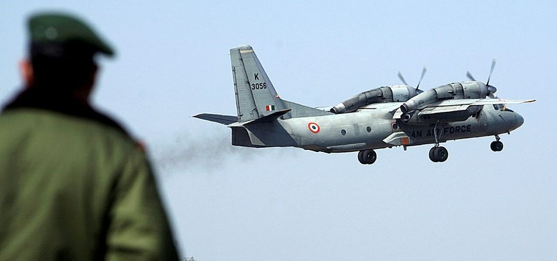 INDIAN AIR FORCE FINDS WRECKAGE OF MISSING PLANE