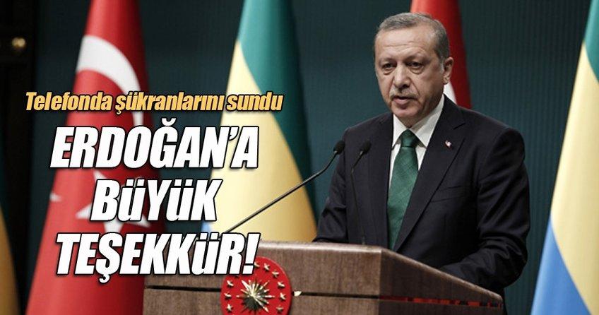 Abbas'tan Erdoğan'a büyük teşekkür
