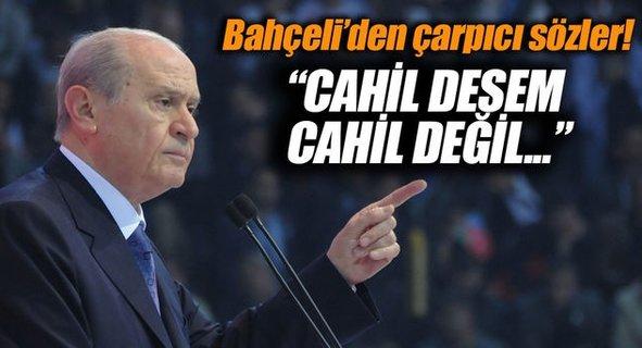 Bahçeli'den Kayseri'de çarpıcı açıklama!