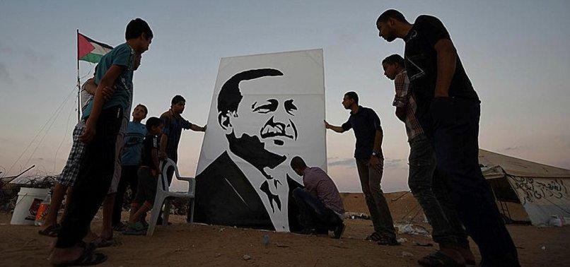 PALESTINE HAILS TURKISH PRESIDENT ERDOĞAN'S SUPPORT FOR JERUSALEM
