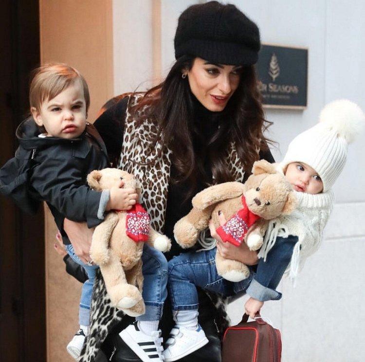 Clooney çiftinden ikizlerine lüks oyuncak