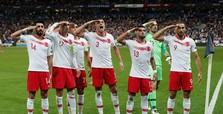 No UEFA fine for Turkey over military salute