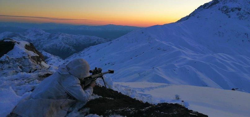 TURKEY 'NEUTRALIZES' 3 PKK TERRORISTS IN N. IRAQ