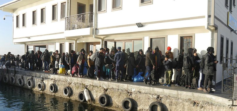 NEARLY 250 IRREGULAR MIGRANTS HELD IN NW TURKEY