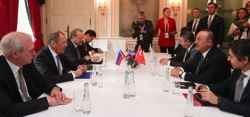 TURKEY CALLS ON RUSSIA TO STOP REGIME ATTACKS ON SYRIAS IDLIB