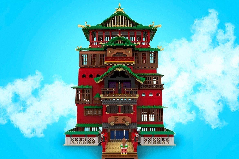 BİR STUDİO GHİBLİ HAYRANI LEGO İÇİN 'SPİRİTED AWAY'İ ÖLÜMSÜZLEŞTİRDİ