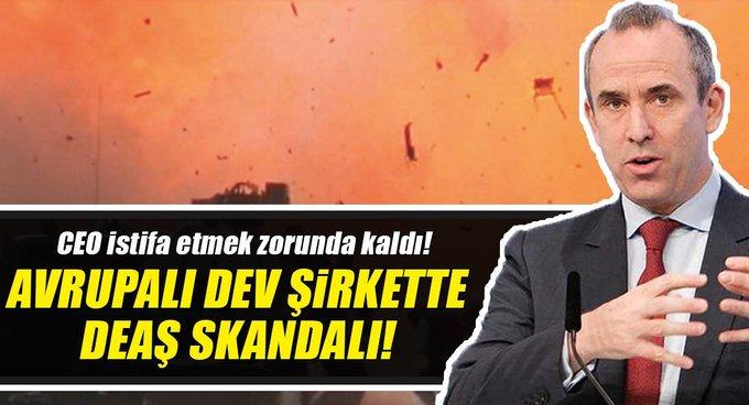 Avrupalı dev inşaat şirketinden DEAŞ skandalı!