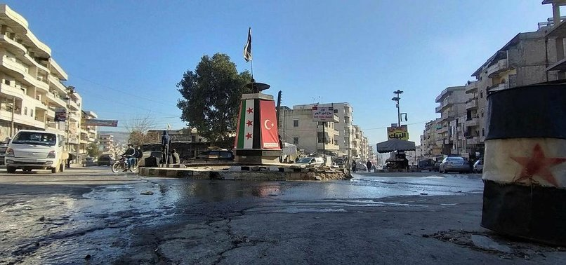9 PKK/YPG SUSPECTS ARRESTED IN SYRIAS AFRIN