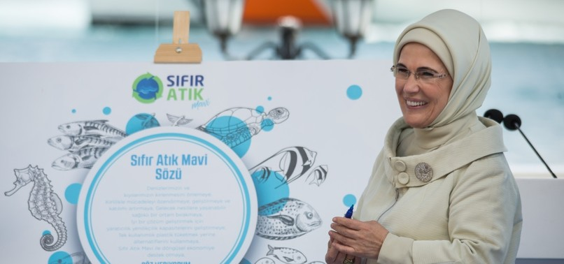 FIRST LADY OFFICIALLY INITIATES ZERO WASTE BLUE PROJECT