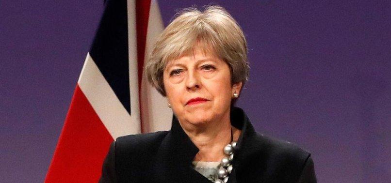 THERESA MAY TELLS TRUMP OF BRITAINS DEEP CONCERN