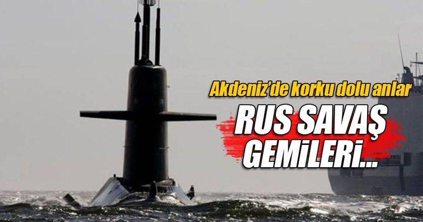 Akdeniz'de Rus filosu, Hollanda denizaltısını kovaladı