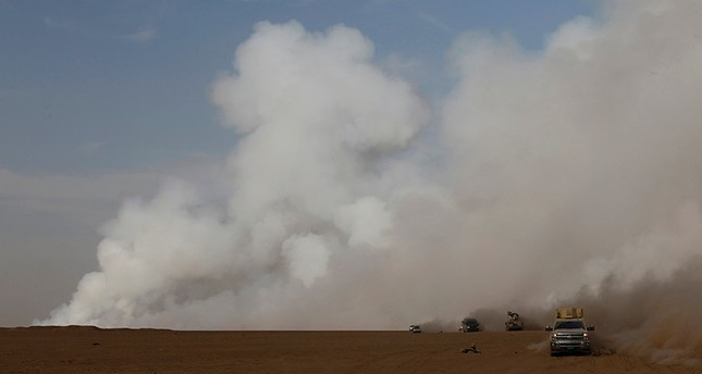 Toxic sulfur dioxide clouds in Iraq drifting to Turkey