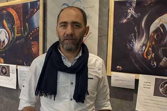 'Üç kıta tek hat' sergisi Budapeşte'de sanatseverlerle buluştu