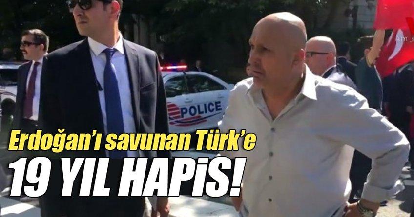 Cumhurbaşkanı Erdoğan'ı savunan Türk'e 19 yıl hapis cezası