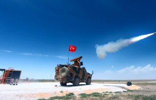 Turkey's locally-produced air defense missile ready to use