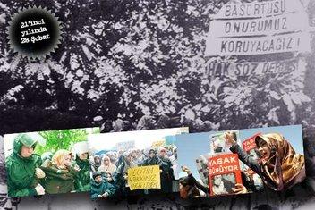 21'inci yılında 28 Şubat mağdurları