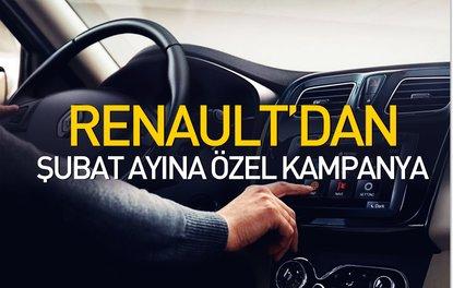 Renaultdan şubat ayına özel kampanya