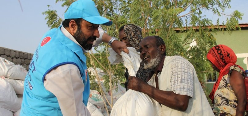TURKISH CHARITY DISTRIBUTES EID MEAT IN ETHIOPIA