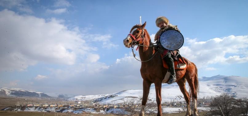 KYRGYZ IMMIGRANTS KEEP THEIR CULTURE ALIVE IN TURKEYS VAN