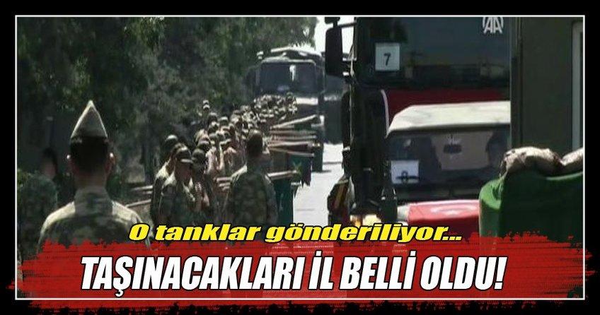66. Mekanize Zırhlı Tugayı İstanbul'dan Tekirdağ'a taşınıyor