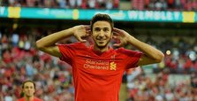 Liverpool midfielder Grujic joins Hertha on loan