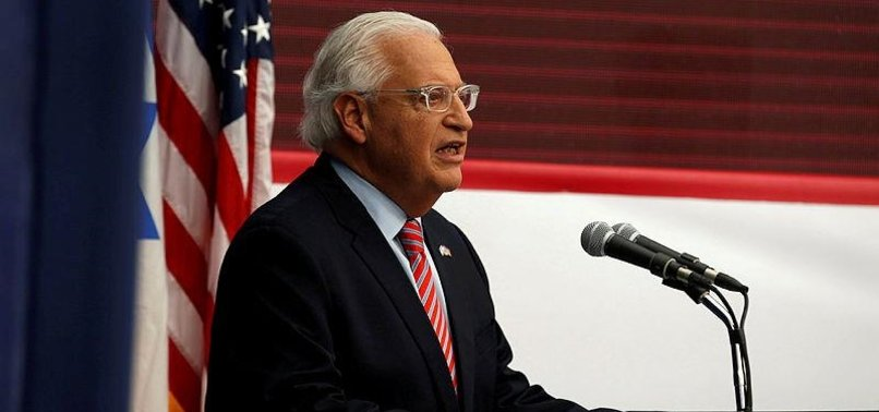 US ENVOY TO ISRAEL REVEALS DETAILS OF 'DEAL OF CENTURY'