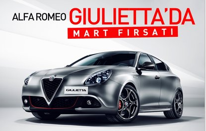 Alfa Romeo Giulietta'da mart fırsatı