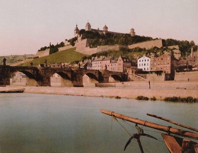 Würzburg Kalesi ve Eski Köprü