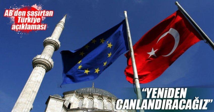 Avrupa Birliği'nden şaşırtan Türkiye açıklaması