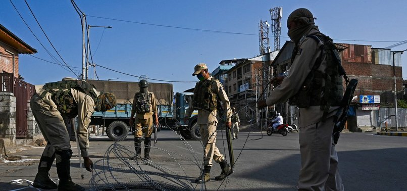 KASHMIR ANNEXATION EJECTS LOCALS FROM OFFICIAL MACHINERY