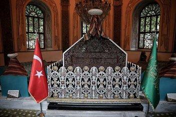 Osman Gazinin defin vasiyeti: Gümüşlü Kümbet