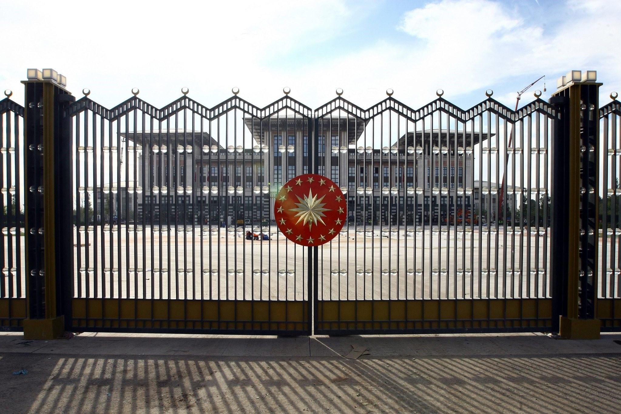 Presidential Complex of the Republic of Turkey located in Beu015ftepe neighborhood of Ankara. (SABAH Photo)