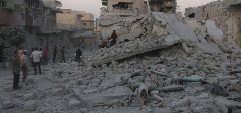 RUSSIA ANNOUNCES CEASEFIRE IN SYRIAS IDLIB FROM SATURDAY