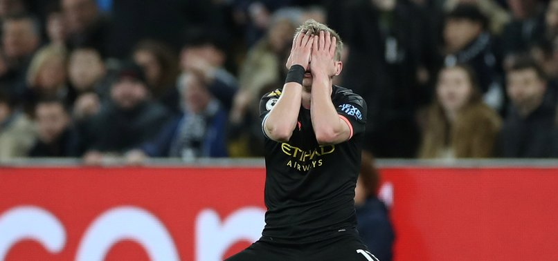 UEFA BANS MANCHESTER CITY FROM EUROPEAN COMPETITION FOR TWO SEASONS
