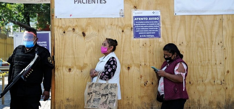 MEXICO REPORTS 3,855 NEW CORONAVIRUS CASES, 253 MORE DEATHS