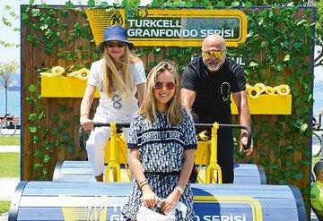 Turkcell GranFondo'da bisiklet yarışı