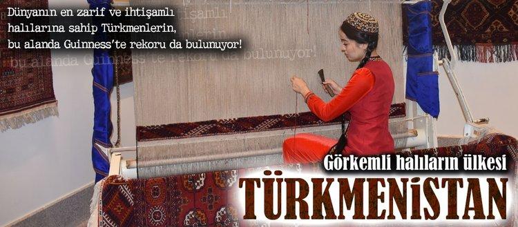 Görkemli halıların ülkesi: Türkmenistan