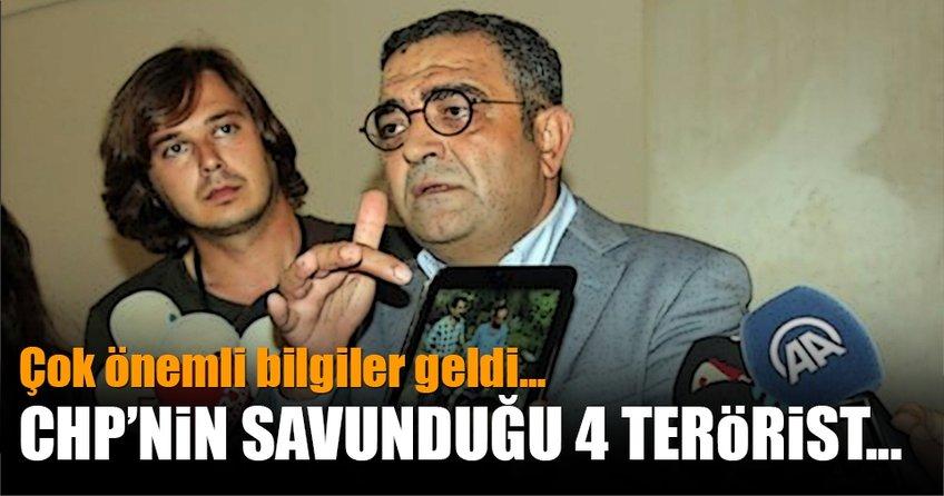 CHP'nin savunduğu 4 terörist...