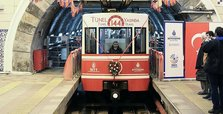 Istanbul's Karaköy tunnel celebrates 144th anniversary