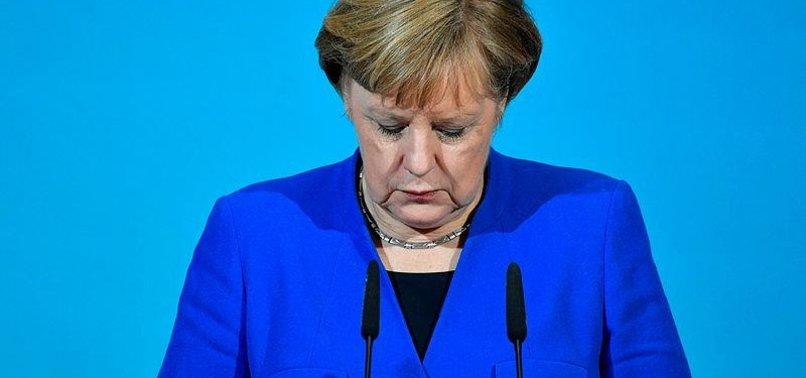 MERKEL RISKS LEADING WEAK LOSERS COALITION FOR GERMANY