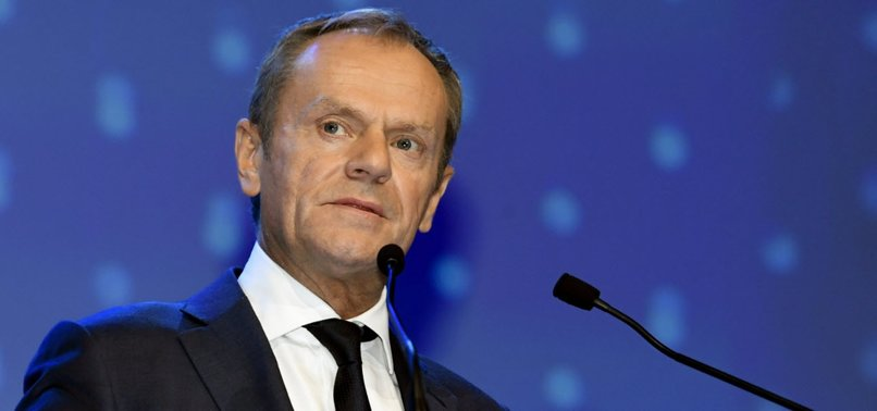 EU CHIEF DONALD TUSK LASHES OUT AT TRUMP STANCE ON EUROPE